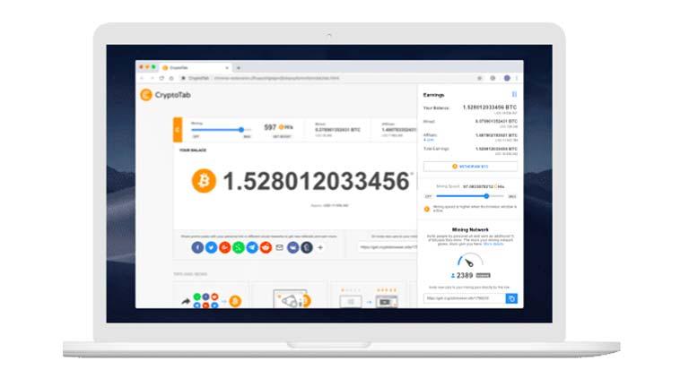 13. Crypto Tab Browser Penghasil Crypto