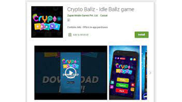 6. Crypto Ballz Penghasil Crypto