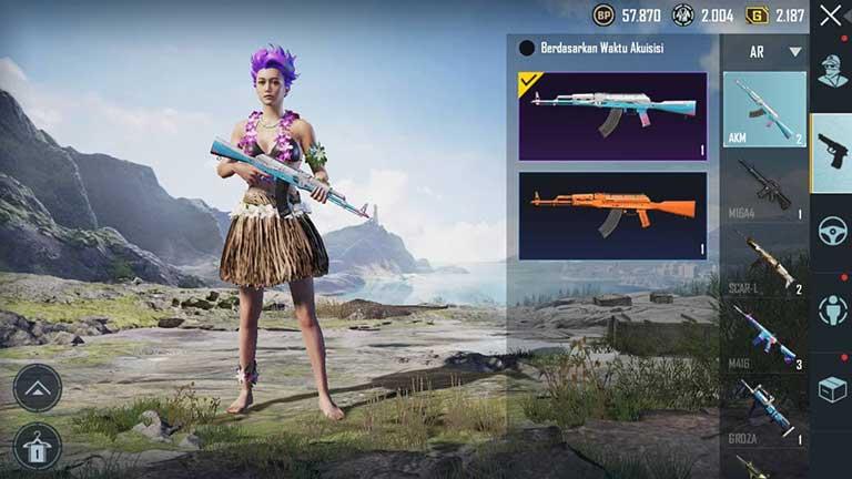 AKM Senjata Terbaik PUBG Mobile