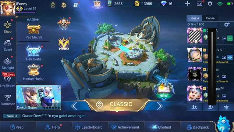 Bermai Mode Classic Cara Memperbaiki Win Rate Mobile Legends