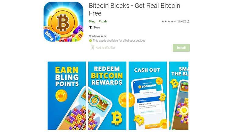 Bitcoin Blocks Penghasil Crypto