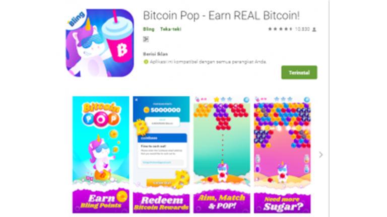 Bitcoin Pop Penghasil Crypto