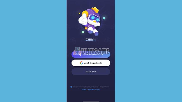 Buka Aplikasi Chikii