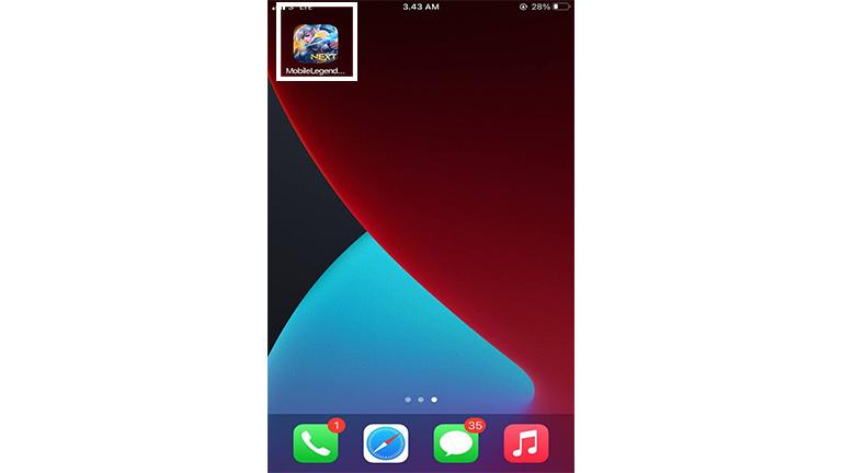 Buka Aplikasi Mobile Legends