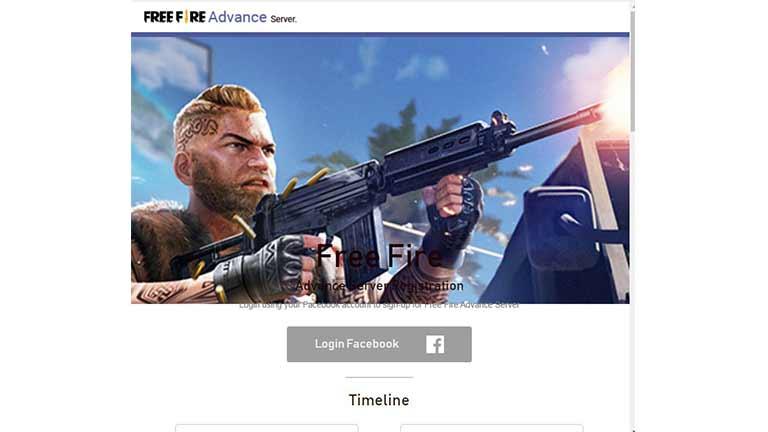 Buka Website Resmi Advance Server