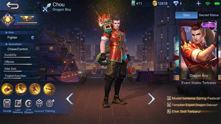 Chou Dragon Boy