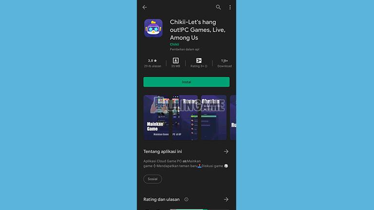 Download Aplikasi Chikii
