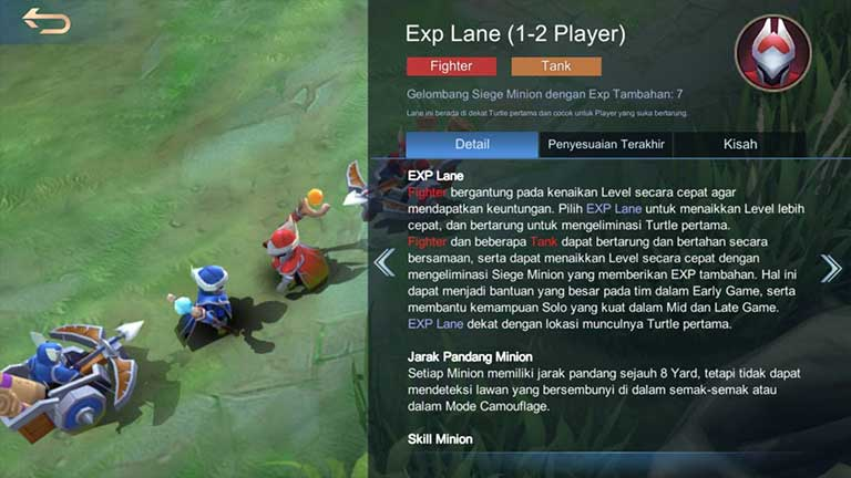 EXP Lane