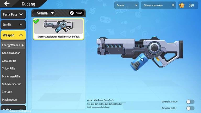 Energy Machine Gun
