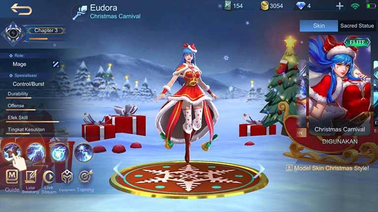 Eudora Hero Terkuat Di Mobile Legends