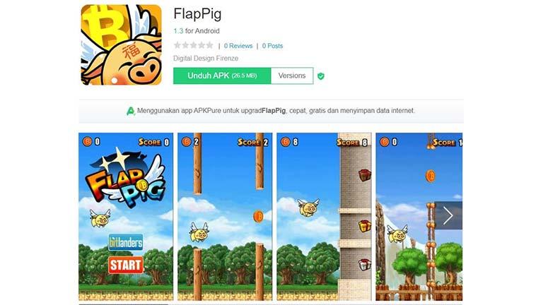 Flap Pig Penghasil Crypto