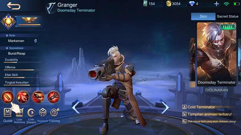 Granger Hero Terkuat Di Mobile Legends