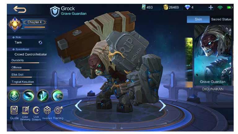 Grock Apa Itu Ngetroll Di Mobile Legends