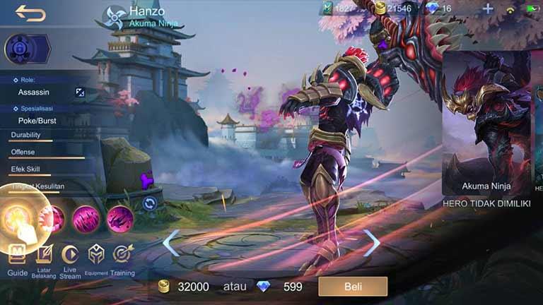 Hanzo Hero Tersulit Di Mobile Legends
