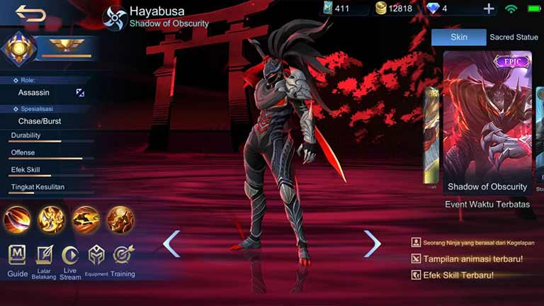 Hayabusa Shadow Of Obscurity