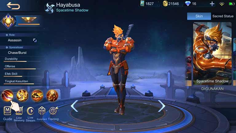 Hayabusa Hero Tersulit Di Mobile Legends