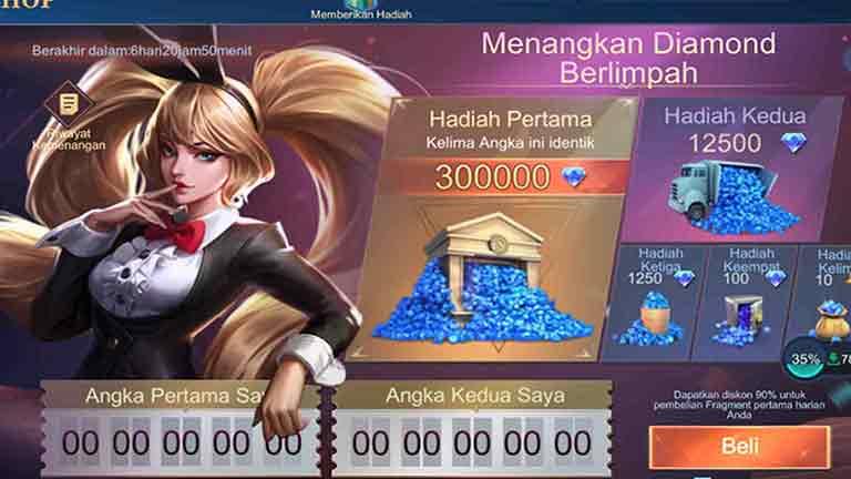 Ikuti Event Mobile Legends Cara Mendapatkan Diamond Mobile Legends Gratis