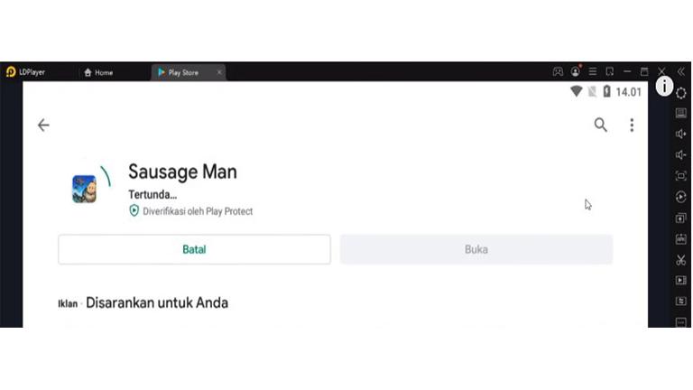 Install Sausage Man Cara Bermain Sausage Man Di PC