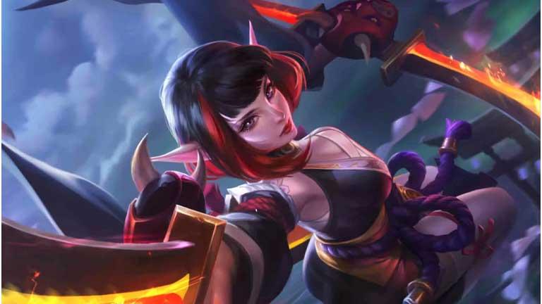 Karina 1 Hero Pertama Mobile Legends