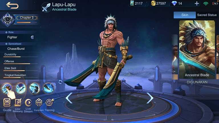 Lapu Lapu Arti Offlaner Mobile Legends