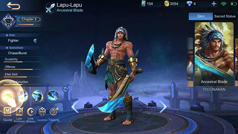 Lapu lapu 1 Hero Terkuat Di Mobile Legends