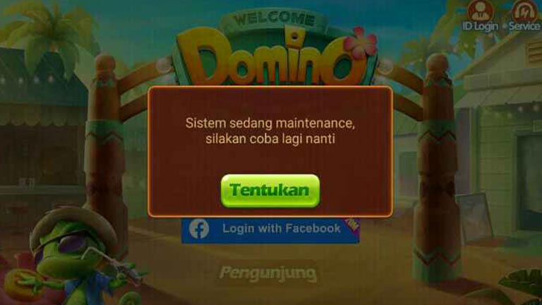 Login Higgs Domino Facebook