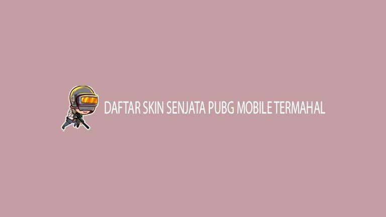 Master Pubg Daftar Skin Senjata Pubg Mobile Termahal