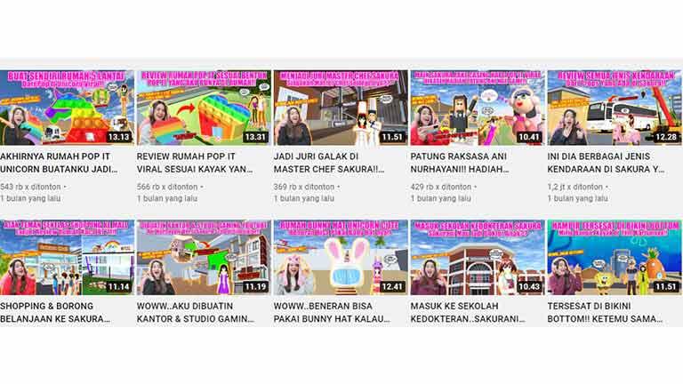 Menghasilkan Uang Manfaat Main Game Sakura School Simulator