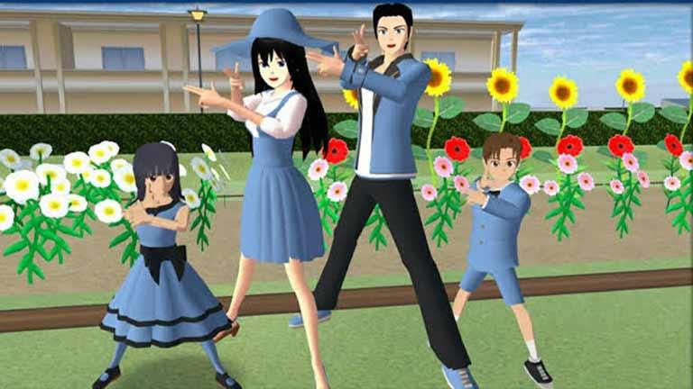 Menghilangkan Stress Manfaat Main Game Sakura School Simulator
