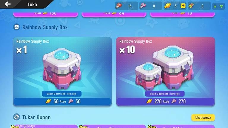 Rainbow Suplay Box