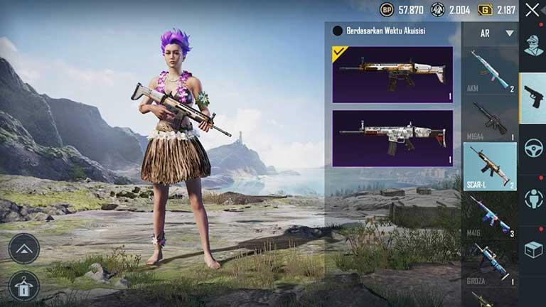 Scar L Senjata Terbaik PUBG Mobile