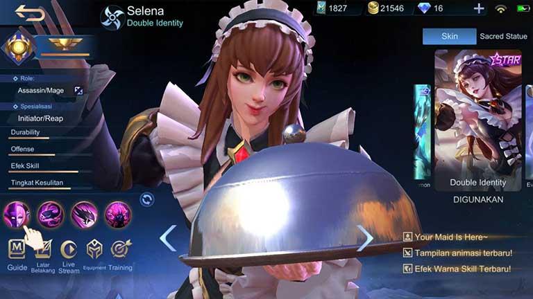 Selena 1 Hero Tersulit Di Mobile Legends