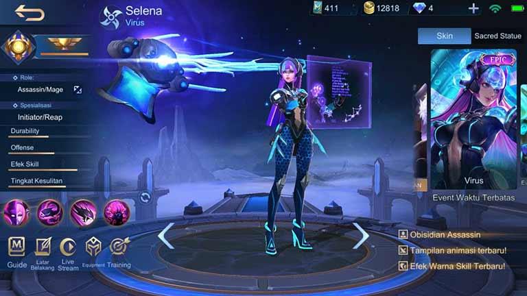 Selena Virus