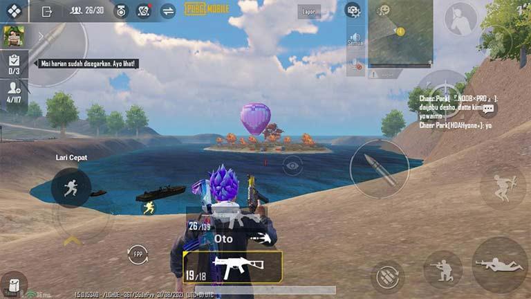 Senjata Favorite Pro Player Kombinasi Senjata PUBG Mobile