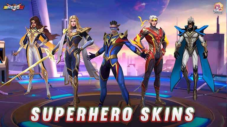 Skin Super Hero Skin Hero Mobile Legend Termahal