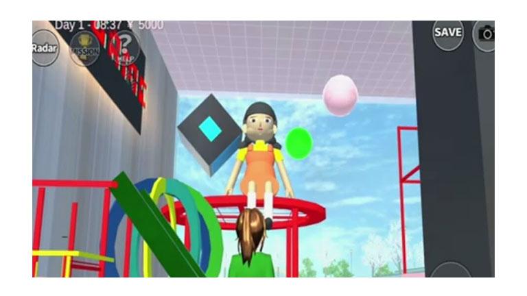 Squid Game Sakura School Simulator 1
