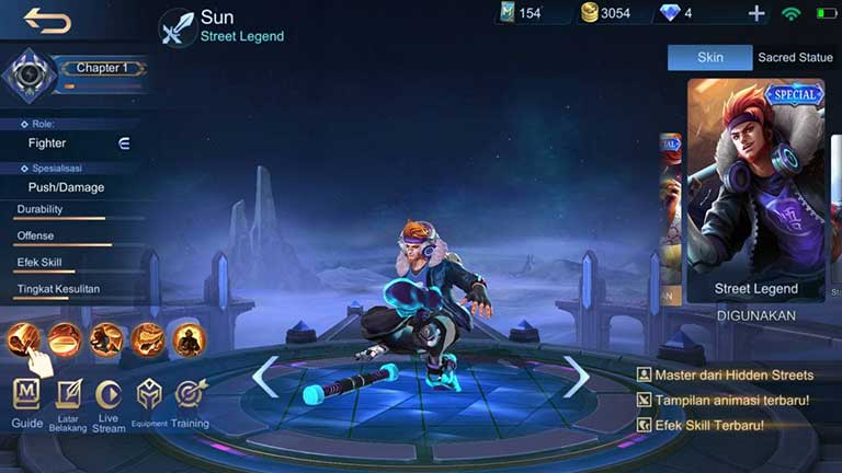 Sun Hero Terkuat Di Mobile Legends