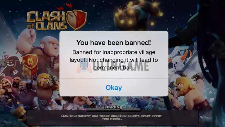 Terkena Banned