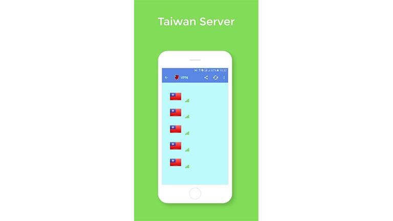 Ubah server Taiwan