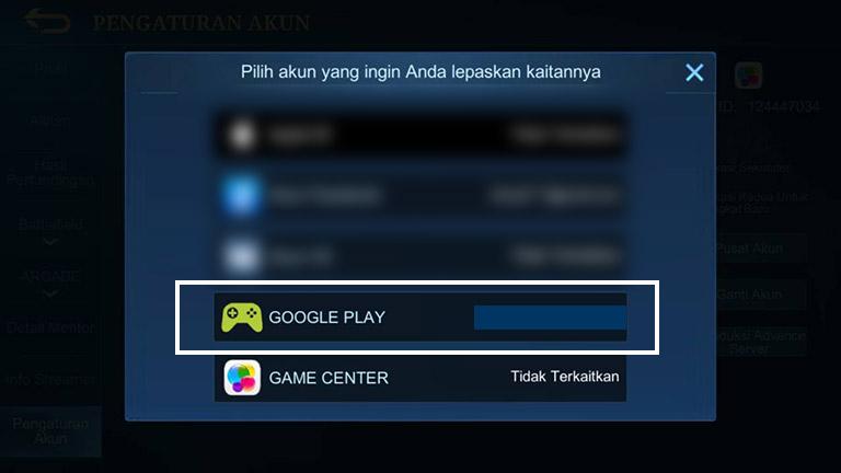 Akun Google Play