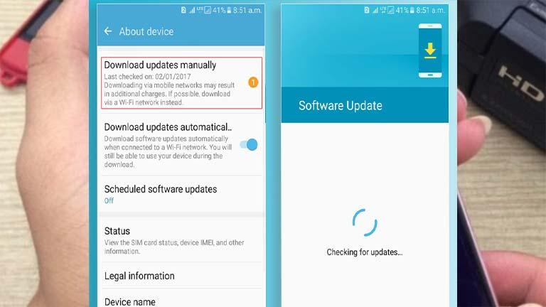 Update OS Android Cara Mengatasi Lag Sausage Man