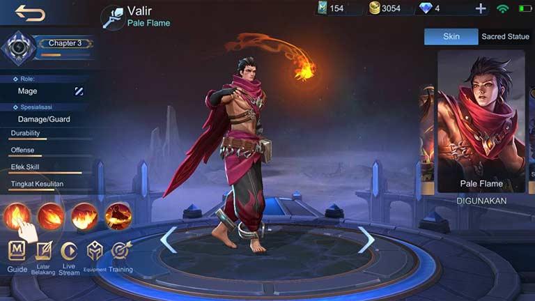 Valir Hero Terkuat Di Mobile Legends