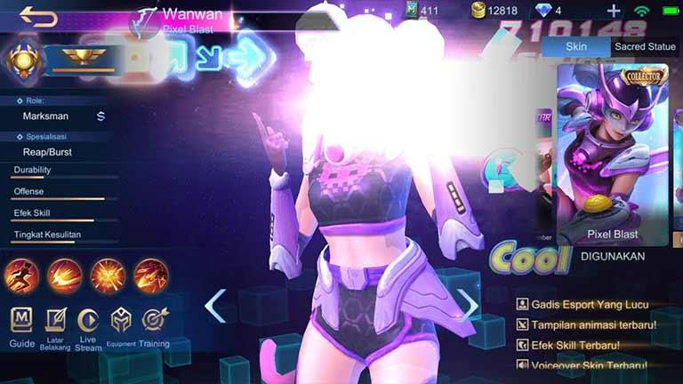 Wanwan Pixel Blast