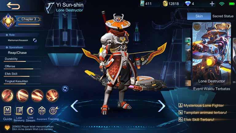 Yi Sun Shin Lone Destructor