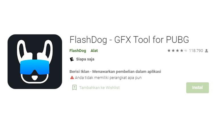 Aplikasi Flasdog Gfx Tool For Pubgaplikasi Flasdog Gfx Tool For Pubg