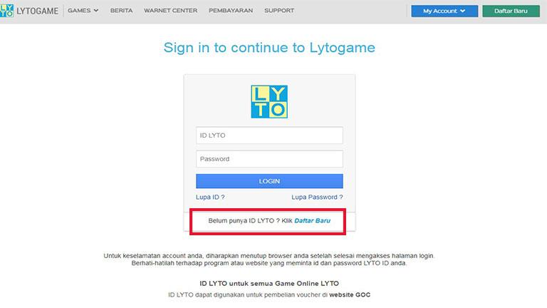 Buka Situs Lyto