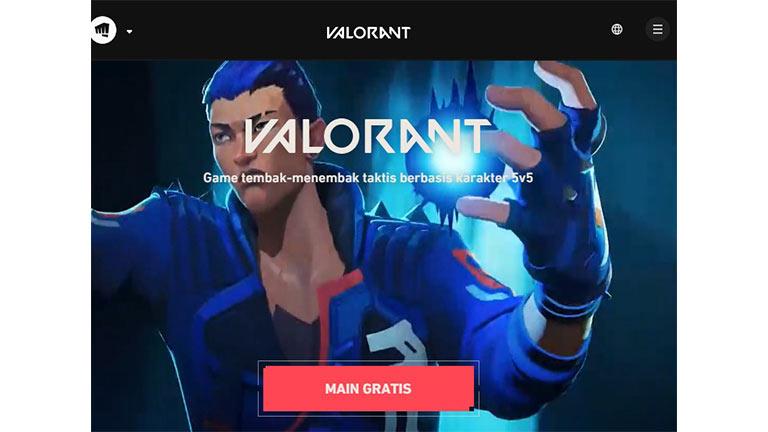 Buka Website Resmi Valorant