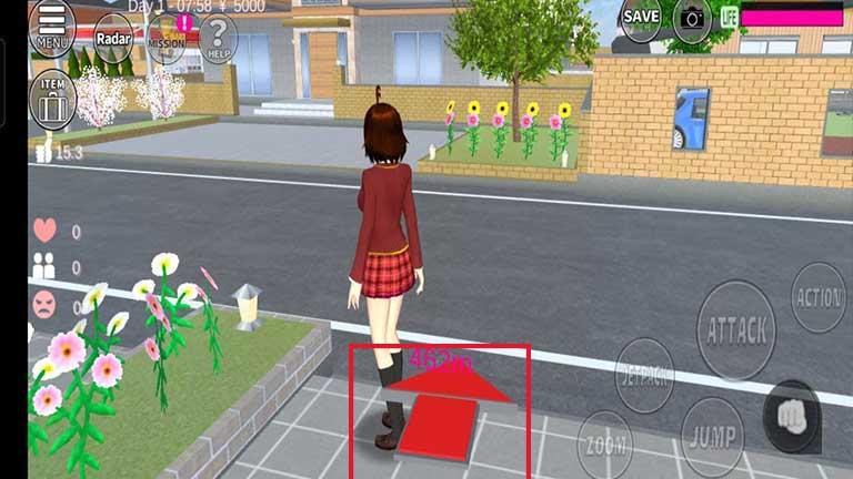 Cara 5 ID Sakura SChool Simulator