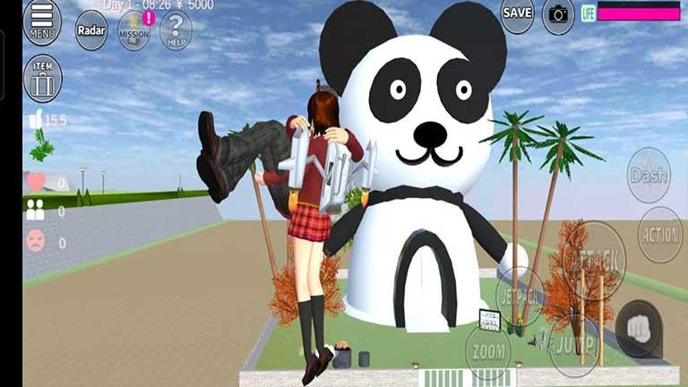 Cara ID Sakura School Simulator