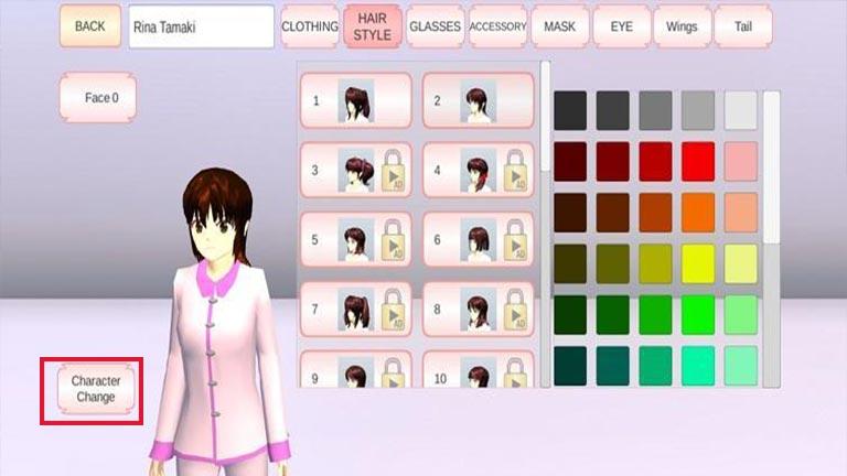 Ganti Karakter 1 Cara Menyelesaikan Misi Di Sakura School Simulator